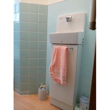 手洗い機を別で付け、衛生面もばっちり。