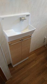 トイレ改装工事の画像