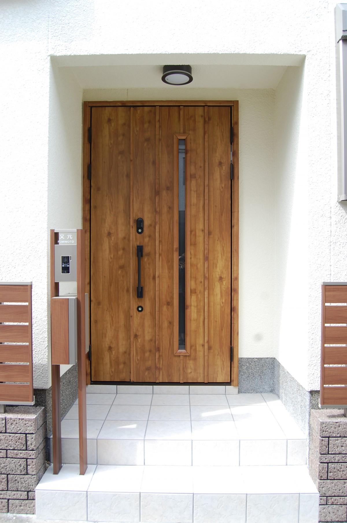 親子ドアは、間口を広く使うこともできる