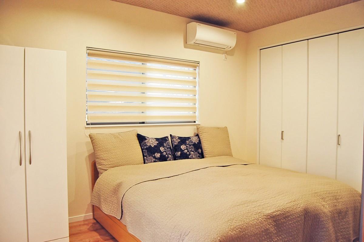 シンプルだけど心地よい寝室