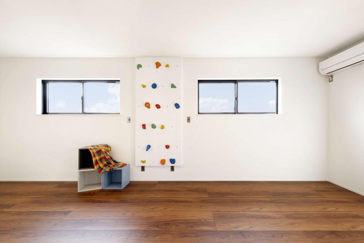 子供たちと家でのびのび遊べる工夫がいっぱい詰まった子供部屋