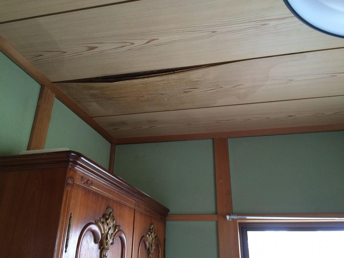 和室天井交換工事の画像