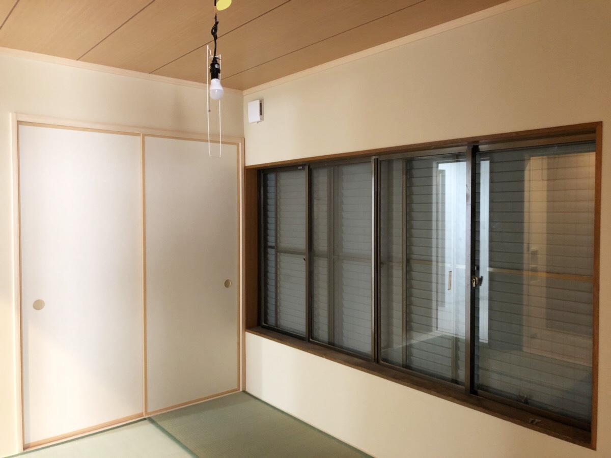 落ち着きのある和室空間。ほっと一息が出来る安らぎの場所に