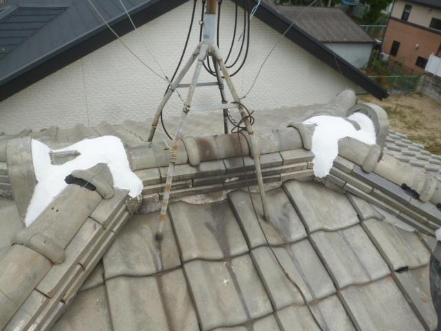 屋根補修工事の画像