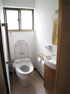 トイレ改修工事の画像